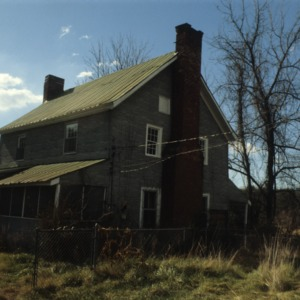 View, Ziglar House, Forsyth County, North Carolina