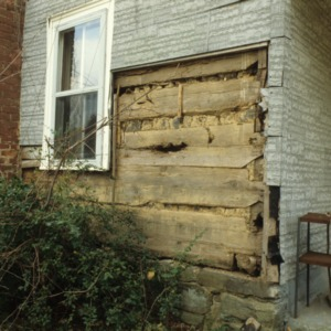 Exterior detail, Ziglar House, Forsyth County, North Carolina