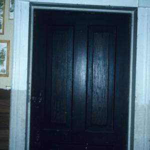 Doorway, Giles/Alexander Mebane House, Mebane, Alamance County, North Carolina
