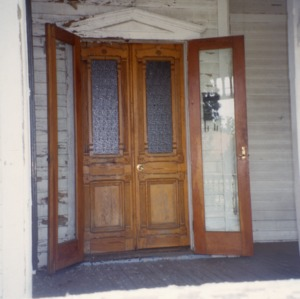 Doors, W. W. Lasley House, Burlington, Alamance County, North Carolina