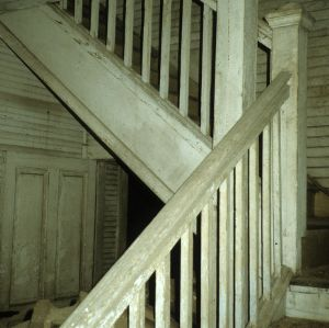 Stairs, Croft School, Mecklenburg County, North Carolina