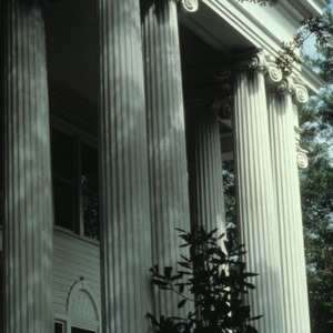 Columns, Wise House, New Hanover County, North Carolina