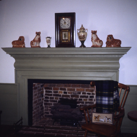 Fireplace, Battle-Purnell House, Wake County, North Carolina