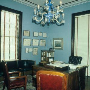 Interior view, Bretsch House, Raleigh, Wake County, North Carolina