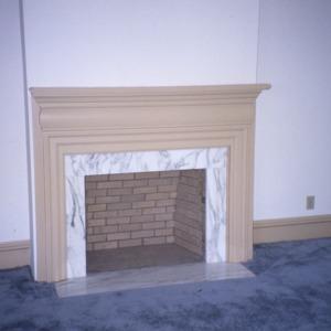 Fireplace, Smith-Johnson House, Fuquay-Varina, Wake County, North Carolina
