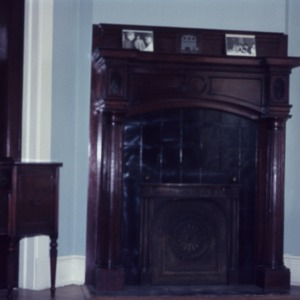 Fireplace, Weathers-Stephenson House, Raleigh, Wake County, North Carolina