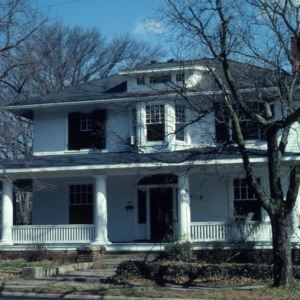 Front view, Weathers-Stephenson House, Raleigh, Wake County, North Carolina