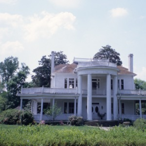 Front view, Lee Cameron's Home place, Fuquay-Varina, Wake County, North Carolina