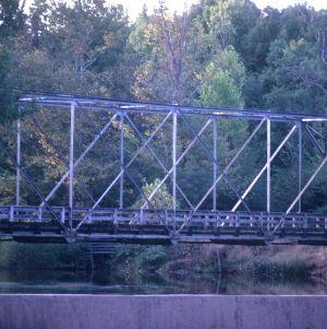 Bridge view, Lassiter Mill, Raleigh, Wake County, North Carolina