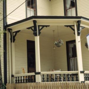Porch, W. Thomas House, Raleigh, Wake County, North Carolina