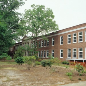 Partial view, Olds Elementary School, Raleigh, Wake County, North Carolina