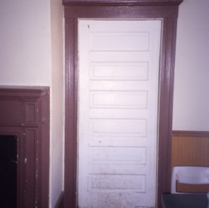 Door, Elizabeth Lawrence House, Wake County, North Carolina