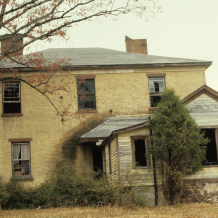 Rear view, Joel Tyson House, Ansonville, Anson County, North Carolina