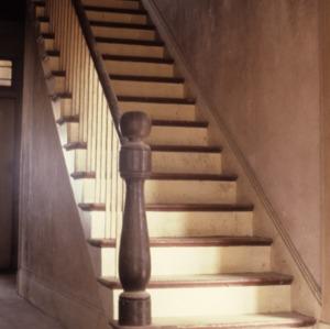 Stairs, Dunlap House, Anson County, North Carolina