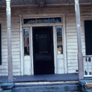 Entrance, George L. Clark House, Clarkton, Bladen County, North Carolina