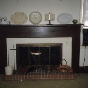 Fireplace, Hickory Hall, Calabash, Brunswick County, North Carolina