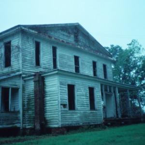 Side view, Hicks House, Duplin County, North Carolina