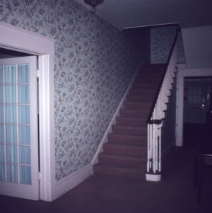 Interior view with stairs, Phillips House, Laurinsburg, Scotland County, North Carolina