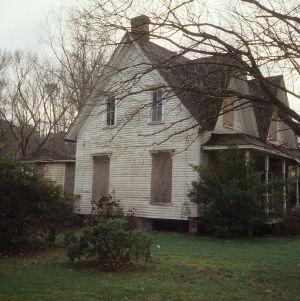 Side view, Parish House, Columbia, Tyrrell County, North Carolina
