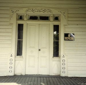 Entrance, Nesbit House, Waxhaw, Union County, North Carolina