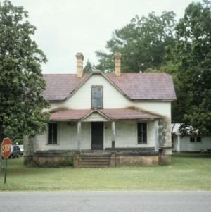 Front view, T. B. Creel House, Aberdeen, Moore County, North Carolina