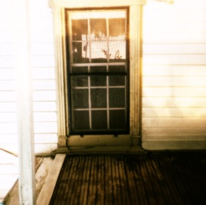 Porch detail, Adrian Savage House, Greenville, Pitt County, North Carolina