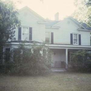 Front view, Ficklin Arthur House, Greenville, Pitt County, North Carolina