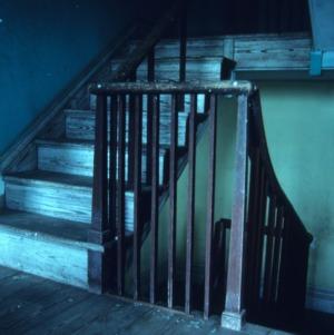 Stairs, McDaniel House, Jones County, North Carolina