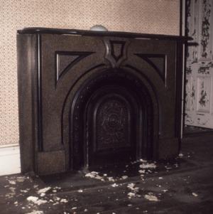 Fireplace, Henry Weil House, Goldsboro, Wayne County, North Carolina