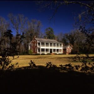 View from distance, Oakland, Bladen County, North Carolina