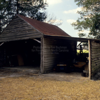 Barn, Walnut Grove, Bladen County, North Carolina