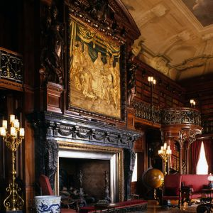 Fireplace, Biltmore Estate, Asheville, North Carolina
