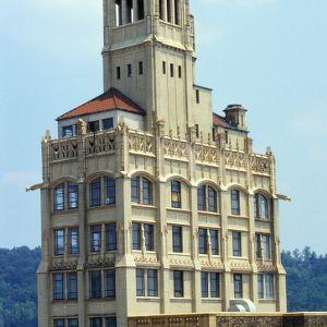 View, Jackson Building, Asheville, North Carolina