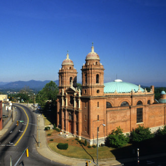 View, Basilica of St. Lawrence, Asheville, North Carolina