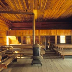 Interior, Brown Marsh Presbyterian Church, Bladen County, North Carolina