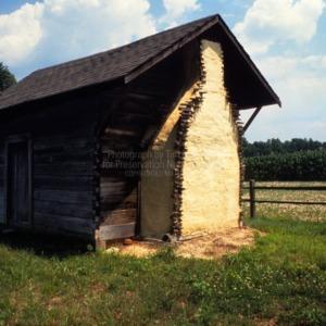 View, Boyette Plank House, Johnston County, North Carolina