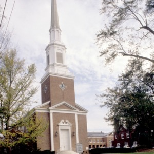 View, First Presbyterian Church, Concord, North Carolina