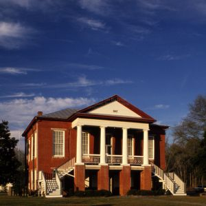View, Camden County Courthouse, Camden, North Carolina