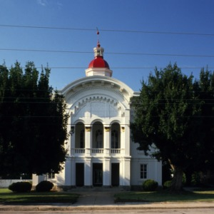View, Caswell County Courthouse, Yanceyville, North Carolina