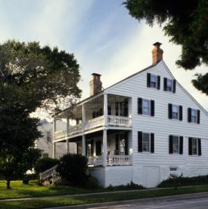 View, Jacob Henry House, Beaufort, North Carolina