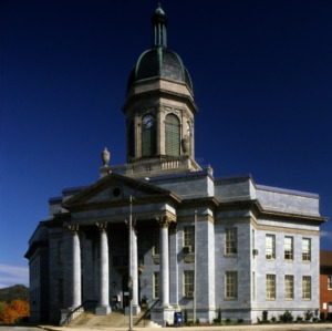 View, Cherokee County Courthouse, Murphy, North Carolina