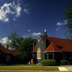 View, St. Joseph's Episcopal Church, Fayetteville, North Carolina