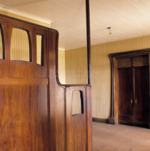 Entry hall, Whalehead Club, Currituck County, North Carolina