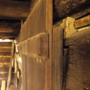 Barn door detail, Sink Farm, Davidson County, North Carolina