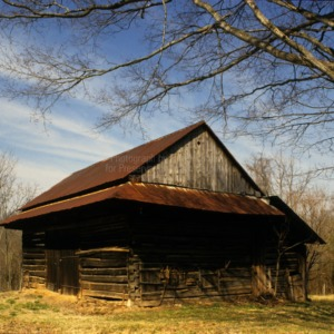 View of barn, Sink Farm, Davidson County, North Carolina