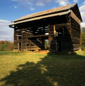 View, Barn, Phillip Sowers House and Barn, Davidson County, North Carolina