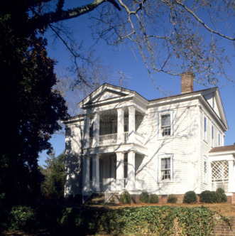 View, Dr. David Gillespie House, Kenansville, North Carolina