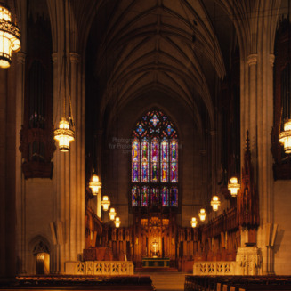 Interior, Duke University Chapel, Durham, North Carolina
