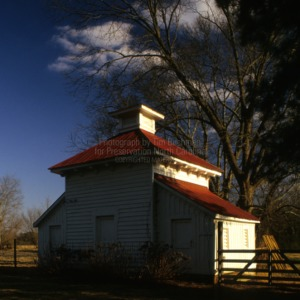 View, Outbuilding, Coolmore, Edgecombe County, North Carolina