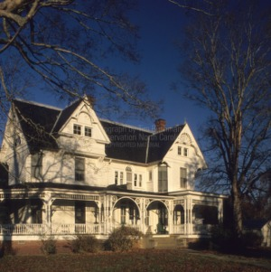 View, Person-McGhee House, Franklin County, North Carolina